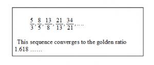 Fibonacci-GoldR